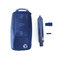Wholesale 4Buttons Replacement Keyless Entry Remote Car Key Fob Transmitter Flip Ignition Transponder Chip Key