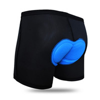 bicycle undershorts - WOSAWE Brand Men Bicycle Bike Sports Underwear Cycling D Silicone Gel Bib Padded Shorts Bike Mountain Riding Undershorts