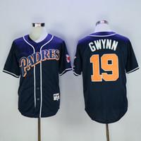 baseball padres - Throwback San Diego Padres Tony Gwynn Vintage White Gray Brown Camo Baseball Jerseys on Sale
