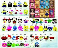 Wholesale Hot D Universal inch Cell Phone Covers Cute Cartoon Silicone Frame Case For IPHONE Samsung HTC SONY XiaoMI models mix order