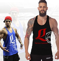 Wedges army clothings - 2016 Powerhouse GYM Tank Tops Bodybuilding Clothings Fitness Sports Vests solid color gym Tank vests colour NY49