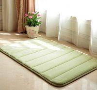 american foam and fabric - Ultra soft Slow rebound memory foam bath mats X120cm absorbent mats doormat carpet floor rug pad