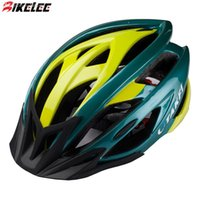 Wholesale Ultralight g Caschi Ciclismo Adult Men Road MTB Bicycle Green Helmet Visor Bike Cycling Helmets Women Capacete Bicicleta