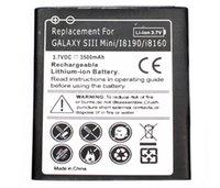 Prolongée boîtier de la batterie de galaxie Avis-Haute qualité Galaxy S3 Mini batterie étendue téléphone mobile avec étui pour la batterie Samsung Galaxy S3 Mini AKKU ACCU 3500mAh