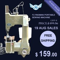 Wholesale GK9 Portable Manual sewing machines Hand Packet machine PP woven sack closer electrical portable sewing machine rice bag seale