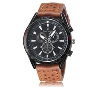 alloy density - Fashion Watch Large Dial Casual Belt Quartz Watch Material High Density Zinc Alloy Stable Performance Out076