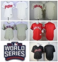 american indian names - 2016 World Series Postseason Baseball Jersey Cleveland Indians Blank Jerseys American League Champions Personalized Any Name and Number