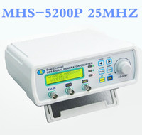 Wholesale MHS P DC kHz kHz Digital Dual channel DDS Signal Generator Arbitrary waveform generator Function signal generator MHz