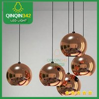 Wholesale DHL Free ship Fashion crystal droplight Hot Selling Modern Dia40cm Tom Dixon Mirror Ball Pendant Lamp