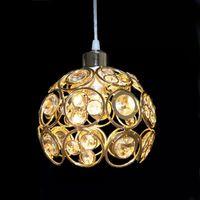 ac suspension - 2016 Suspension Luminaire w Modern Luxury K9 Crystal Pendant Light Gold Lamp Led Hanging Lights v v Ac for Home Living Room Bedroom