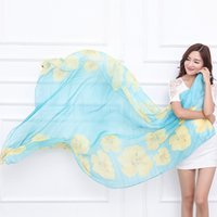 Wholesale 7 Color Flora Rayon Pashmina exquisite poncho Women Warmful cape Cheep shawls and scarves Winter Scarf Fall European fashion