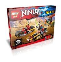 assault series - LEPIN Phantom Ninja Series Airship Assault Spinjitzu Masters Minifigure Building Block Bricks Toys Compatible With LEPIN