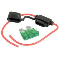 automotive fuses types - 30A Fuse Medium Amp In Line Stanard Blade Type Fuse Holder V M00014 SPDH