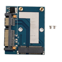 Wholesale New Hot Mini PCI e MSATA To quot SATA Adapter Converter Card Module Blue Board