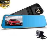 auto car review - Full HD P Car DVR Novatek Car Dvr Blue Review Mirror Digital Video Recorder Auto Navigator Registrator Camcorder