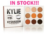 Wholesale 6pcs in stock hot new kylie Kyshadow pressed powder eye shadow palette the Bronze Palette Kyshadow Kit Kylie Cosmetic colors