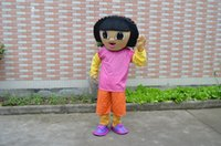 adult mascot costume dora - Dora the Explorer Dora mascot costume adult costume Halloween costume Christmas party cartoon adult size garment factory direct private cust