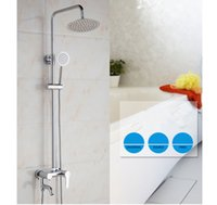 Wholesale Home Garden Showers bathroom Shower sets single handle stainless steel