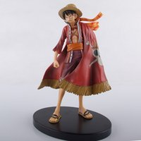 Wholesale The th Anniversary Of The One Piece s Figure Toy Named Monkey D Luffy By PVC With