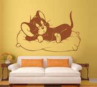abstract wallpaper backgrounds - Sleeping cat wallpaper The sitting room the bedroom background wallpaper Personality decoration