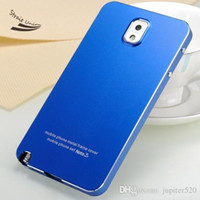 Cheap New Luxury Aluminum Ultra-thin Metal Case Cover Skin Phone case for Samsung Galaxy Note 3 III N9000 Hard Cover