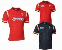 Wholesale NEW Wales RUGBY jersey Top Thailand quality RWC NRL Super Wales home and away Shirts