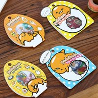 Wholesale 60pcs New Japan Mr Lazy Egg series DIY multifunctional transparent DECO sticker pack office school supplies