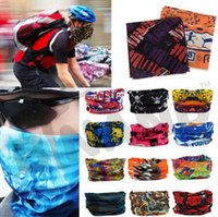 animal hair dye - Fedex DHL Free Fashion Bandanas Multifunctional Outdoor Sport Cycling Multi color Scarf Magic Turban Sunscreen Hair band Z66