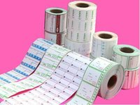 Wholesale Do customize kinds of thermal paper adhesive label paper label printing paper barcode paper welcome to chat detail fast DHL shipping