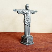 Wholesale Metal crafts Christian Statue of Jesus Arts and Crafts Christian gifts Character model