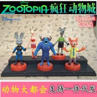 Wholesale Crazy animal city zootopia set decoration animation toy doll