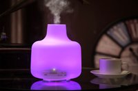 Wholesale 500ml Essential Oil Diffuser Aromatherapy Diffuser Ultrasonic Cool Mist Humidifier with AUTO Shut off Function LED Lights ST S