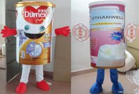 adult powder milk - RH0416 adult Milk Powder Can mascot costume Suit for adult to wear