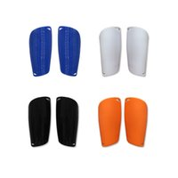 Wholesale Freeshipping pair kids children sports safety Small shinguard light insert football soccer smooth Pads Shinguard Protector