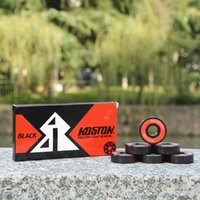 abec bearings ratings - KOSTON pro quality oxidation ball bearing for skateboard and longboard usage high speed bearing with ABEC precision rating
