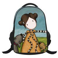 Wholesale Children s School Backpack Pupils Girls Cartoon Book Bag School Bags Children Backpack for Kids Mochila Infantil Nursery CH1505