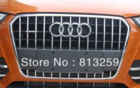 audi front grill - New high quality Stainless steel Front Grille Trim For Audi Q3 grilled chicken grill pan