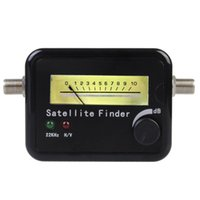 Wholesale New Arrival High Quality Digital Satellite Signal Finder Meter FTA LNB DIRECTV Signal Pointer