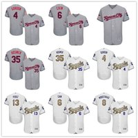 fashion baseball jerseys - 2016 Flexbase KC Royals Alex Gordon Lorenzo Cain Mike Moustakas Eric Hosmer Salvador Perez Fashion Stars Gold Kansas City Baseball Jerseys