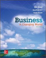 adventure books - Business A Changing World th Edition Text books for students