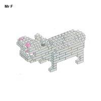 Wholesale Hippo Diamond Blocks D DIY Building Toys Bricks Action Figure Kids Toys Gifts