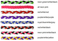 athletic headbands - 2016 DHL new braided headband rope headbandWholesale high quality Workout Athletic Running Sports Yoga headband