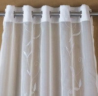 Wholesale The new play small ring curtain embroidered with lace