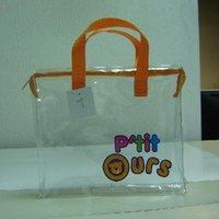 wholesale pvc cosmetic bags - hot selling logo custom cosmetic bag portable clear cosmetic bag waterproof pvc cosmetic bag