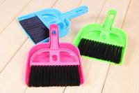 Wholesale Litter Sweeper Scoop Pet Cleaning Tool Plastic Broom sweeping cm cm Dog House Dustpan