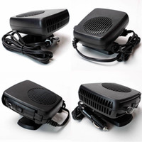 Wholesale 12V Car Heater Hair Dryer Demister Defroster Cooling Fan Folding Handle Van