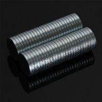 Wholesale 100pcs x mm Circular Disc Neodymium Magnets N52 Craft Reborn Fridge Diy magnet Permanent magnet Strong Powerful