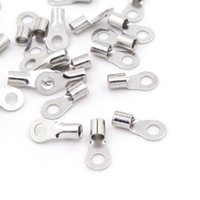 Wholesale High quality non insulated ring terminal Electrical Wire Terminals Crimp Connector model RNB3 There are many sizes you can choose