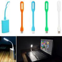 bank fr - Mini Universal Portable Xiaomi USB LED Light Fr PC Laptop Power Bank partner high quality orange