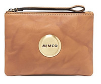 Wholesale HONEY ROUND LOGO LEATHER WITH LOGO Medium Lovely pouch mimco lovers style top quality wallet